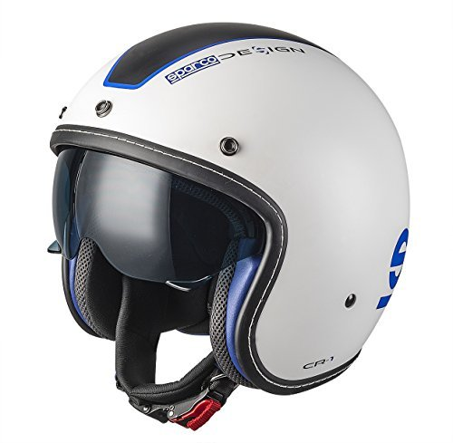 Casco Sparco Cafe Racer Blanco L 1