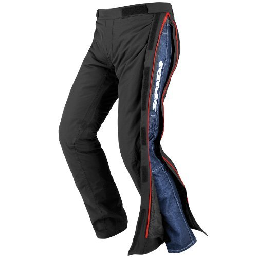 Pantalones impermeables Spidi Superstrom H2Out NegroM 1