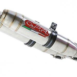 Escape doble GPR Italia S.120.DE Suzuki GSR 600 06/11