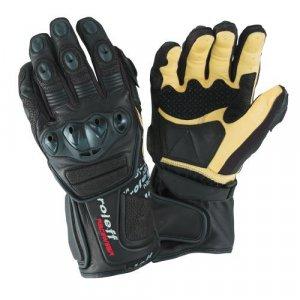 Guantes Roleff Racewear 695 Negro/Beige XL