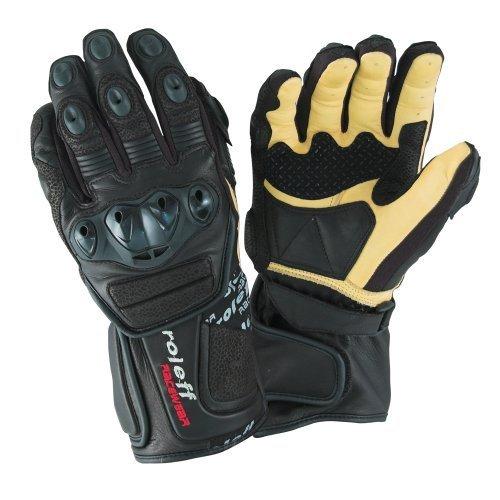 Guantes Roleff Racewear 695 Negro/Beige XL 1