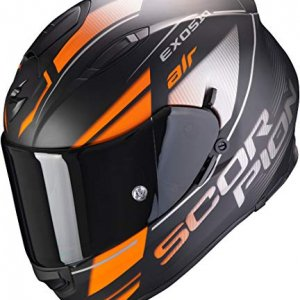 Casco Scorpion Exo-510 Air Ferrum Negro/Naranja L