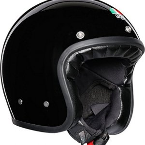 Casco jet AGV Legends X70 Negro XL