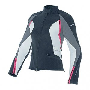 Chaqueta mujer Dainese Arya Lady Text Negro/Gris 42