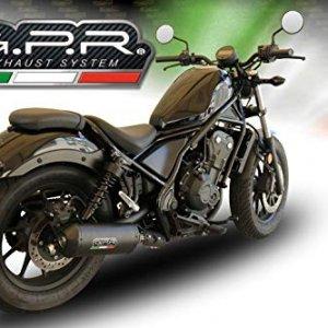 Escape GPR Italia H.250.GHI Honda CMX 500 Rebel 18/19
