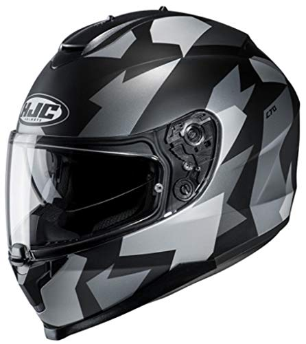 Casco HJC C70 Valon MC5SF Negro/Gris L 1