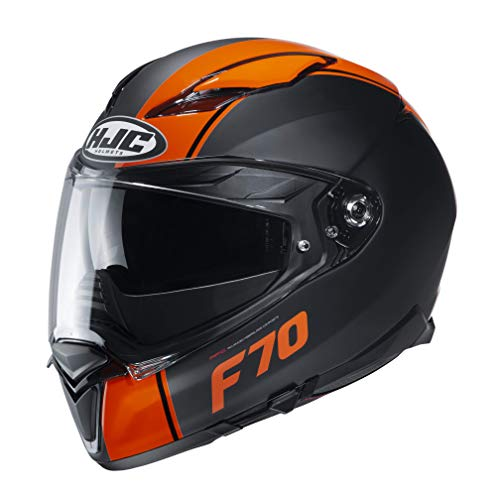 Casco HJC F70 Mago MC7SF Negro/Naranja XL 1