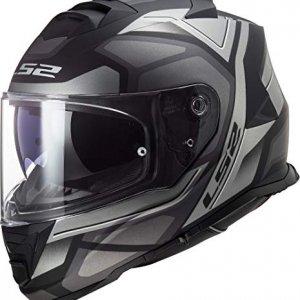Casco LS2 FF800 Storm Faster Negro/Gris L