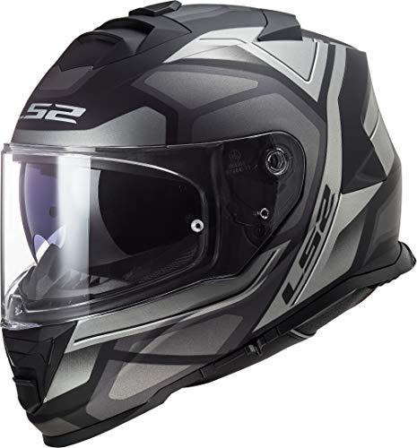 Casco LS2 FF800 Storm Faster Negro/Gris L 1