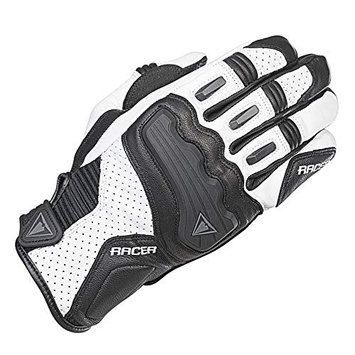 Guantes mujer Racer Guide Negro/Blanco XL 1