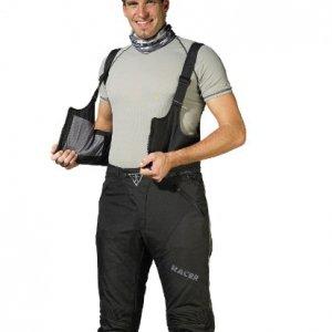 Peto para pantalones Racer Adventure Plus Negro S
