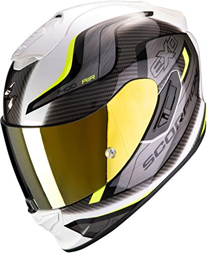 Casco Scorpion Exo 1400 Air Attune Blanco/Gris XL 1