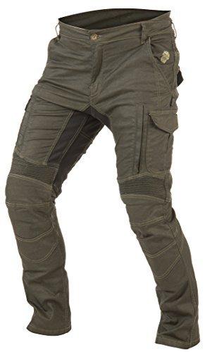 Pantalones Trilobite Acid Scrambler Kevlar Caqui 40 1