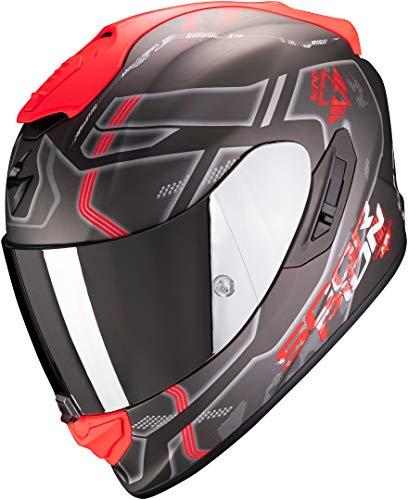 Casco Scorpion Exo 1400 Air Spatium Negro/Rojo S 1
