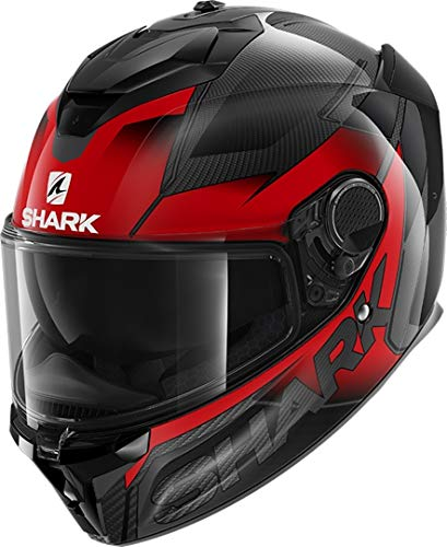 Casco Shark Spartan GT Carbono Shestter Negro/Rojo M 1