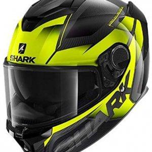 Casco Shark Spartan Carbon GT Negro/Amarillo L