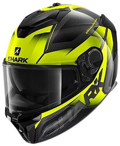 Casco Shark Spartan Carbon GT Negro/Amarillo L 1