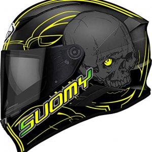 Casco Suomy Speedstar Amlet Negro/Amarillo L