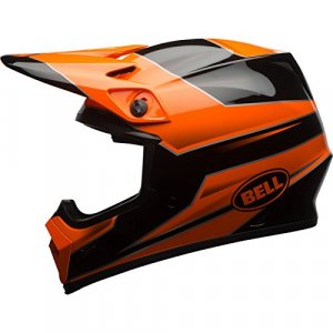 Casco Bell MX-9 MIPS Stryker Naranja/Negro XL