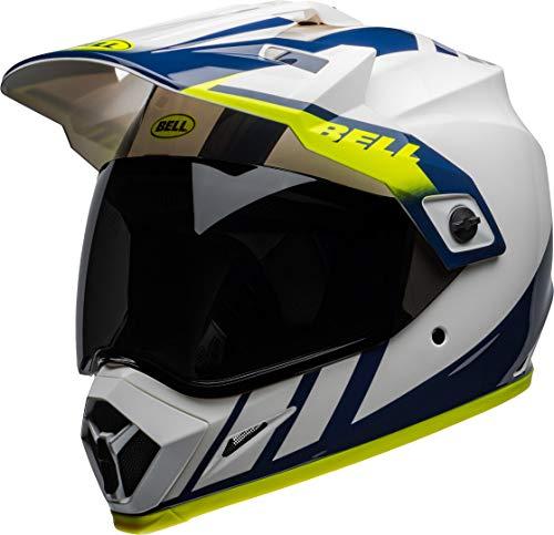 Casco Bell MX-9 Adventure Dash Blanco/Azul/Fluo S 1