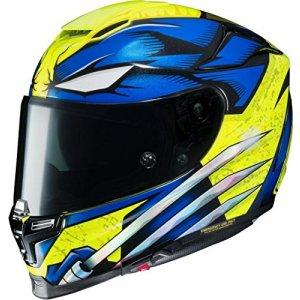 Casco HJC RPHA 70 Wolverine X-Men Azul/Amarillo S