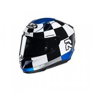 Casco HJC RPHA 11 Misano Negro/Blanco/Azul XXL