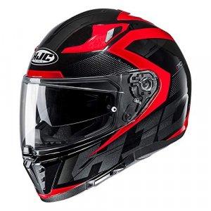 Casco HJC I70 Asto MC1 Negro/Rojo XXL
