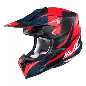 Casco HJC i50 Tona MC1SF Negro/Rojo XS