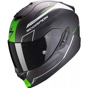 Casco Scorpion Exo-1400 Air Carbon Beaux Negro/Verde XL