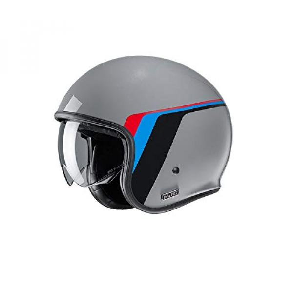 Casco HJC V30 Osor MC5 Gris/Azul/Rojo/Negro S 1