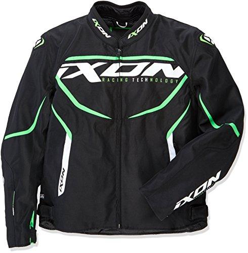 Chaqueta Ixon Sprinter Negro/Verde 3XL 1