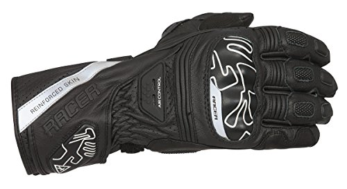 Guantes mujer Racer Grip Negro L 1