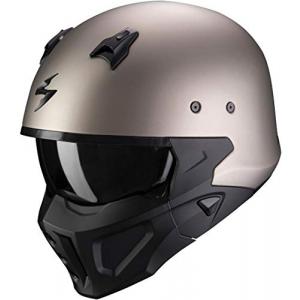 Casco Scorpion Covert X Titanio/Negro XL