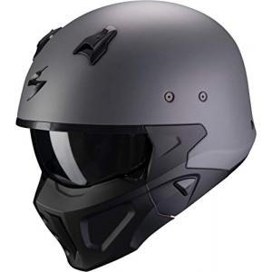 Casco Scorpion Covert X Gris/Negro XS