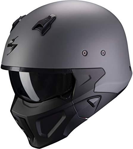 Casco Scorpion Covert X Gris/Negro XS 1