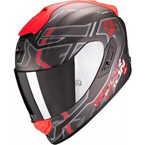 Casco Scorpion Exo 1400 Air Spatium Negro/Rojo L