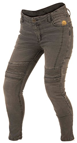 Pantalones mujer Trilobite 1665 Micas Urban Gris 30 1