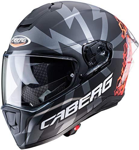Casco Caberg Drift Evo Storm Negro/Rojo/Narnaja L 1