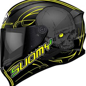 Casco Suomy Speedstar Amlet Negro/Amarillo M