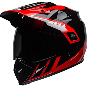 Casco Bell MX-9 Adventure Dash Negro/Blanco/Rojo