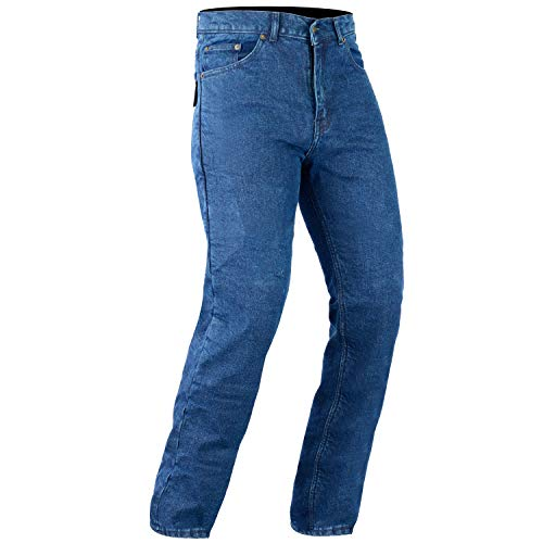 Pantalones Bikers Gear Australia Aramida Kevlar Jeans Azul 52L 1