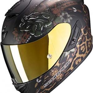 Casco Scorpion Exo 1400 Air Toa Negro/Oro XL