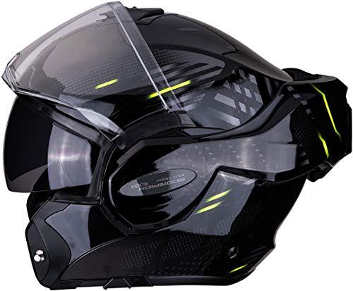 Casco Scorpion Exo-Tech Pulse Negro/Amarillo S 1