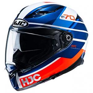 Casco HJC F70 Tino MC21 Azul/Rojo M