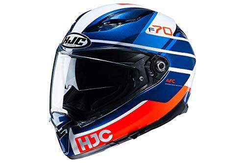 Casco HJC F70 Tino MC21 Azul/Rojo M 1