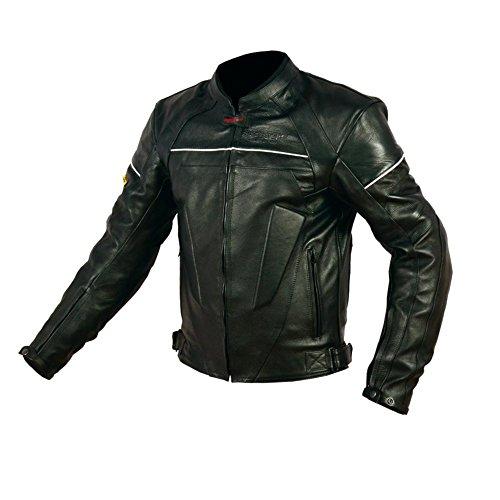 Chaqueta piel Rider-Tec Street RT0119 Negro L 1